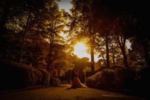 夕暮れ時の公園もなんか放課後デートみたいでgood!!